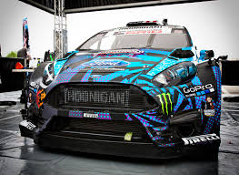 hoonigan stickers on cars from the passenger seat russell got a primer on gymkhana and dove