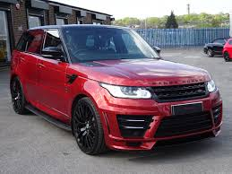 red land rover used land rover range rover sport 3 0 bi turbo svrr black label