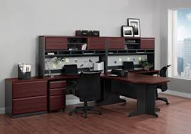 Computer Desk With Hutch Cherry by Amazon Com Altra Pursuit U Shaped Desk With Hutch Bundle Cherry
