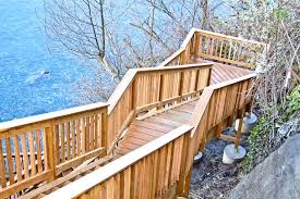 wooden deck steps u2013 unexpectedartglos me