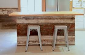 barnwood kitchen island kitchen transformed farmhouse to industrial part 6 of 8 the island