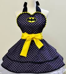 Cute Aprons For Women Made To Order Batman Apron 73 00 Via Etsy Geek Love