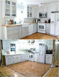 renover cuisine bois renover cuisine bois stunning cuisine avec plan de travail et lot
