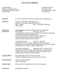 basic resume sles for college students inspirational resume sles college student resume cover letter