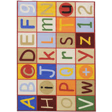 Alphabet Area Rug Kids Rugs Starbright Alphabet Abc U0027s Multi 3 U00273 U0027 U0027x4 U00276 U0027 U0027 Kids Area Rug