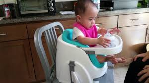 Baby Chair Clips Onto Table Ingenuity Baby Base 2 In 1 Booster Seat With 8 Month Old Youtube