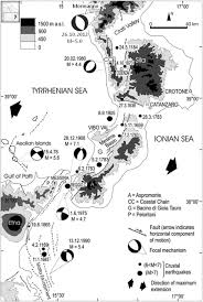 Map Of Calabria Italy by Geoethics And Seismic Risk Perception The Case Of The Pollino