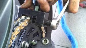 kawasaki z1000 chain and sprockets replacement youtube