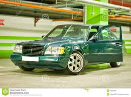 green mercedes benz old green mercedes stock photo image 46006656