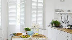 Window Treatments In Kitchen - shutters for kitchen windows u0026 window treatments the shutter store