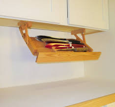 details about under cabinet knife rack by ultimate kitchen storage