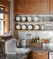 upcycling ideas from country counter space open shelves