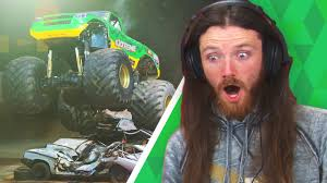 watch monster truck videos irish people watch monster trucks for the first time youtube