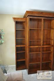 Bookcase Murphy Bed Murphy Library Beds For Your Home Lift U0026 Stor Beds
