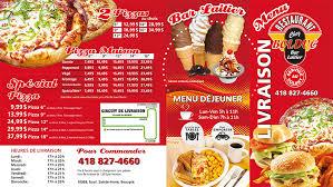livraison cuisine menu livraison bolduc restaurant chez bolduc