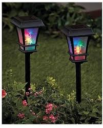 spectacular deal on unbranded 3d colored solar stake lights solar