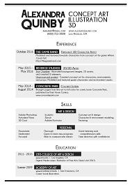 Resume Me Alexandra Quinby U0027s Portfolio About Me U0026 Resume