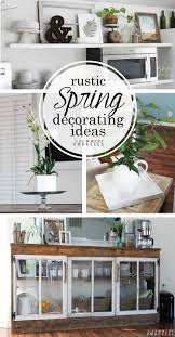 rustic spring decorating ideas giveaway the summery umbrella