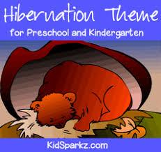 hibernation theme activities and printables for preschool and