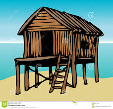 beach house graphic royalty free stock images image 4014769