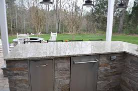 how to build an outdoor kitchen island kitchen outdoor kitchen island with concrete countertop hgtv