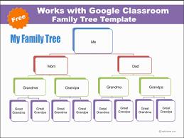 google classroom family tree template k5 computer lab