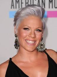 hairstyles for young women with gray hair pink goes grey or silver really one of the best exles of