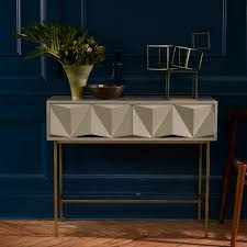 modern console table with drawers 25 modern console tables for contemporary interiors