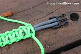 how to make parachute cord paracord bracelets