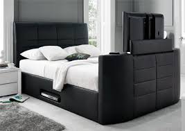 leather beds u0026 bed frames in white black or brown time4sleep