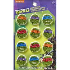 wilton teenage mutant ninja turtles icing decorations 12 ct wilton