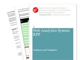 web analytics request for proposal rfp econsultancy