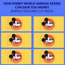 Save Money On Disney World How Disney World Annual Passes Can Save Money Even On 1 Trip
