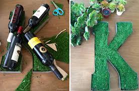 Domestication Home Decor Spring Home Decor Succulent Initial Craft
