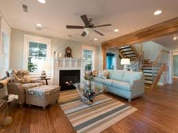 terrific design of great room interior with classic and casual
