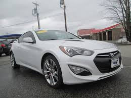 white 2013 hyundai genesis coupe hyundai genesis coupe in maine for sale used cars on buysellsearch