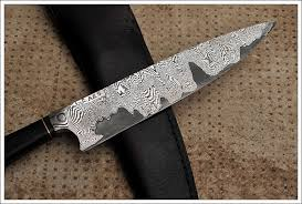damascus kitchen knives integral san mai damascus kitchen knife the knife network forums