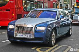 rolls royce blue rolls royce ghost 10 march 2017 autogespot