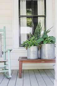 curb appeal with plants a front porch makeover