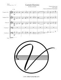 monteverdi cantate domino brass sextet claudio monteverdi
