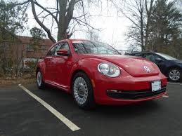 pushing a 2014 volkswagen beetle 2014 volkswagen beetle 2 5l m5 in tornado red for sale in boston