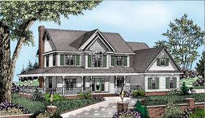 country home plans wrap around porch country house plans e architectural design page 7