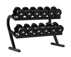 powertec two tier dumbbell rack wb dr10 fitnesszone