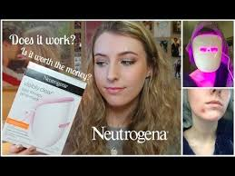 neutrogena acne light mask review neutrogena acne light therapy mask honest review is it worth it