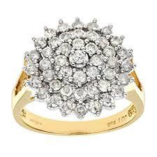 daimond ring naava 18ct yellow gold diamond ring co uk jewellery
