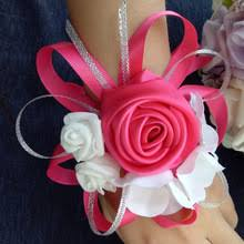 Cheap Corsages Popular Red Wrist Corsage Buy Cheap Red Wrist Corsage Lots From