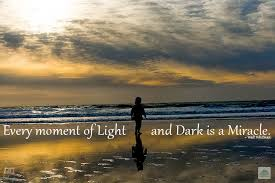 Light And Dark Quotes Wandering Wisdom Wednesday Every Moment Of Light And Dark Is A