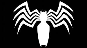 black spiderman logo