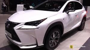 lexus nx exterior 2015 lexus nx300h f sport exterior and interior walkaround