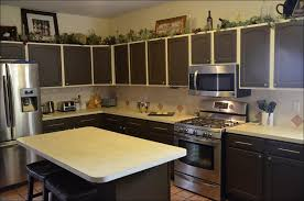 kitchen kitchen paint colors with oak cabinets dark cabinets